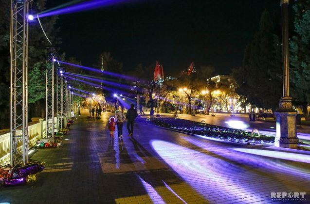 کریسمس در باکو