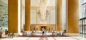 لابی هتل فیرمونت