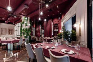 رستوران هتل آیوی گاردن