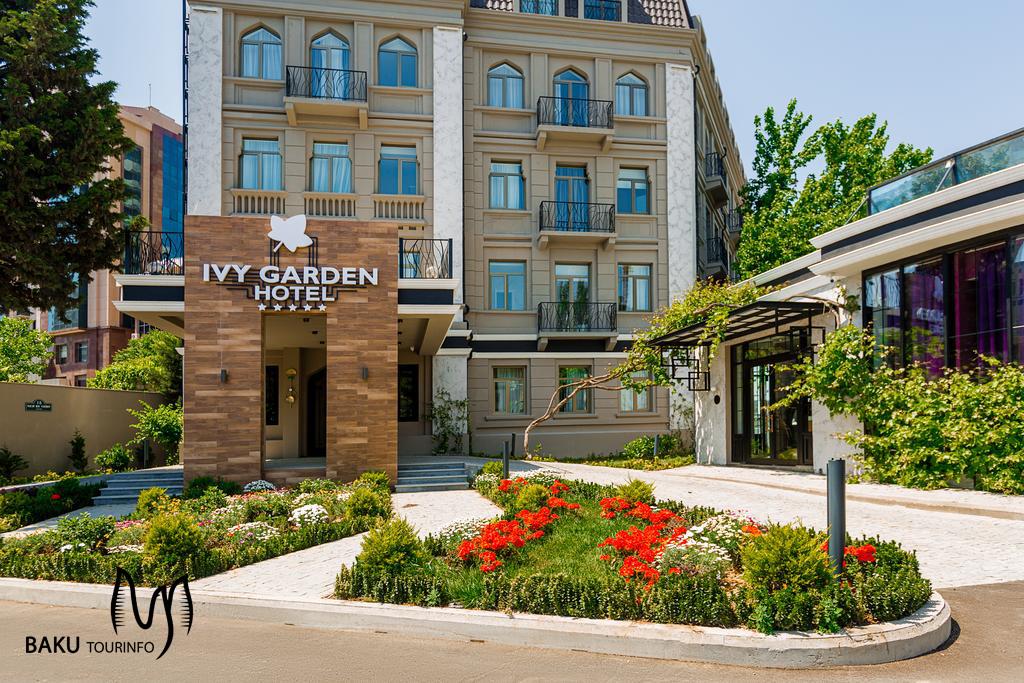 نمای هتل آیوی گاردن